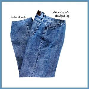 Lee Straight Leg Jeans